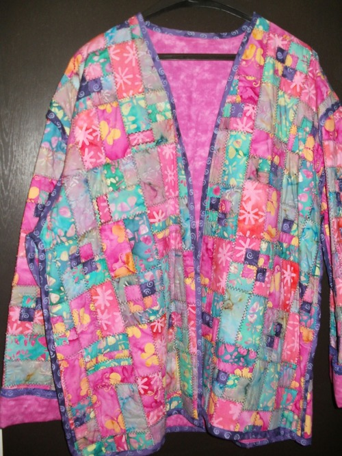 Katharine Denise Clark, Batik Jacket, fabric