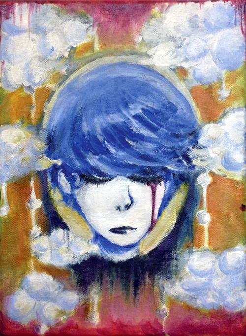 Ashley Min, Dreamscape, acrylic on canvas