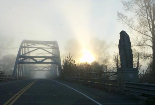 Rachel Tomczek, Misty morning in the valley, photography